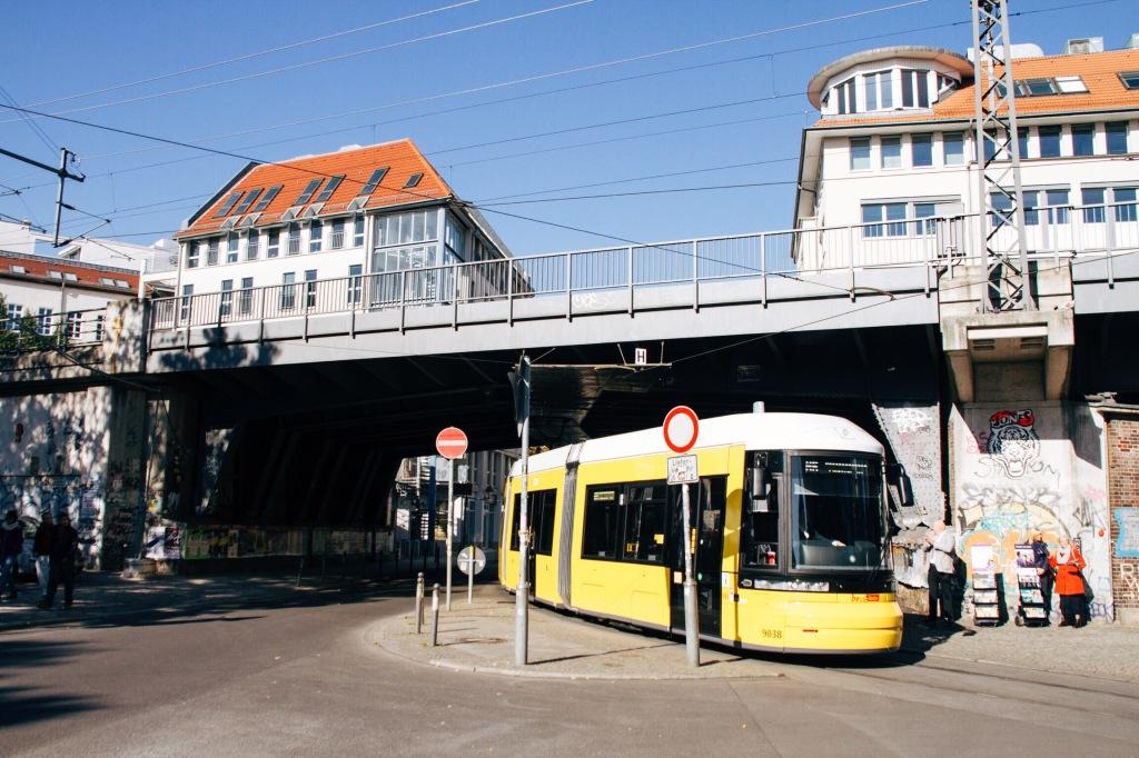 El metrobús Berlines