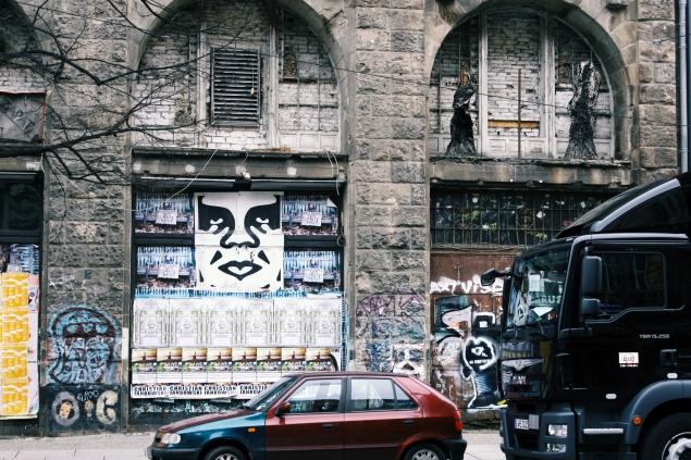 La ex-Tacheles Kunsthaus, edificio tomado