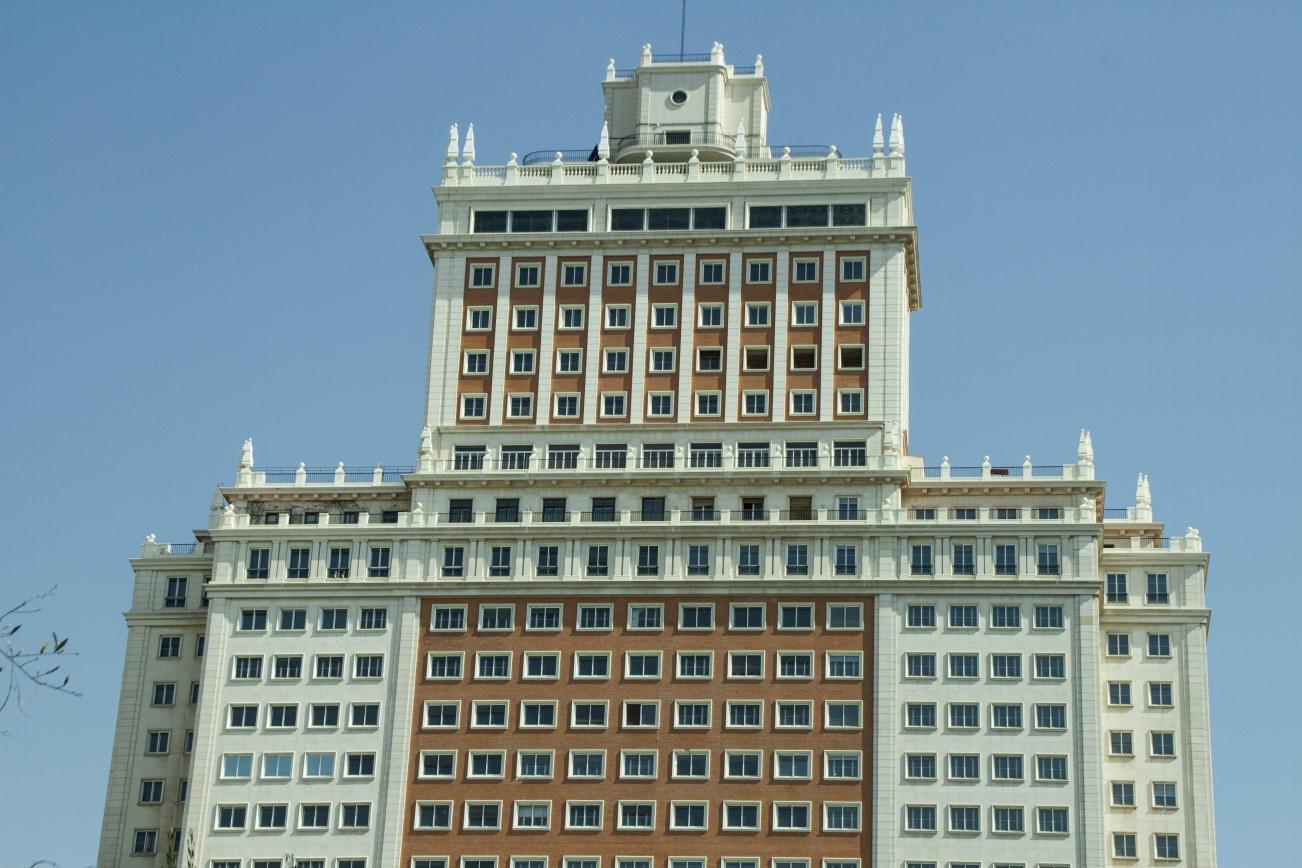 EL PRIMER RASCACIELOS DE MADRID